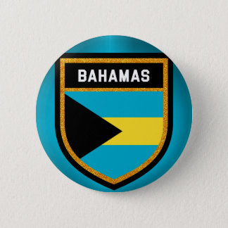 Bahamas Flag 2 Inch Round Button