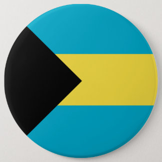 Bahamas Flag 6 Inch Round Button