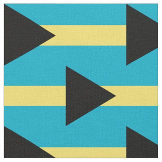 Bahamas flag fabric