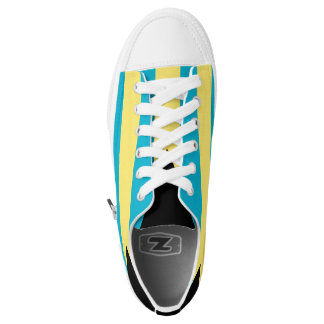 Bahamas Flag Low-Top Sneakers
