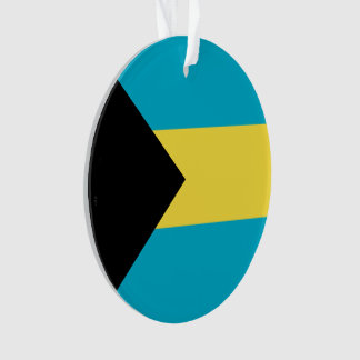 Bahamas Flag Ornament