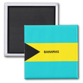 Bahamas flag refrigerator magnet