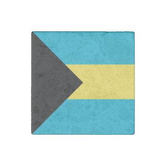 Bahamas Flag Stone Magnets