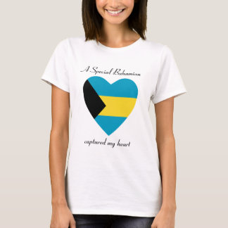 Bahamas Flag Sweetheart T-Shirt