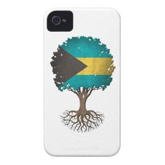 Bahamas Flag Tree of Life Customizable Case-Mate iPhone 4 Case