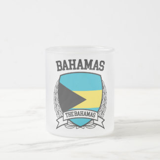 Bahamas Frosted Glass Coffee Mug