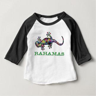 Bahamas gecko baby T-Shirt