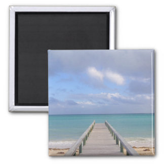 BAHAMAS, Grand Bahama Island, Eastern Side: Square Magnet