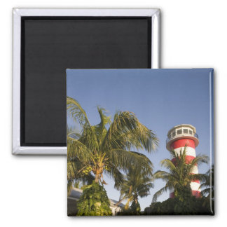 Bahamas, Grand Bahama Island, Freeport, Setting Square Magnet