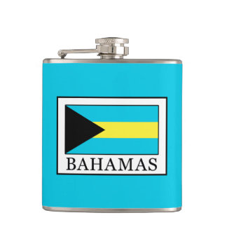 Bahamas Hip Flask