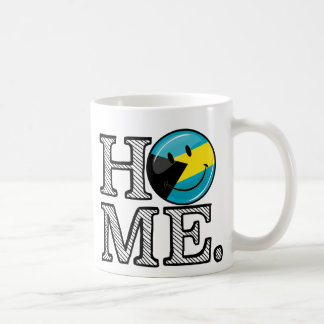 Bahamas is Home Smiling Flag House Warmer Coffee Mug
