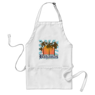 Bahamas Islands Beaches Adult Apron