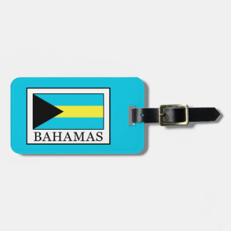 Bahamas Luggage Tag