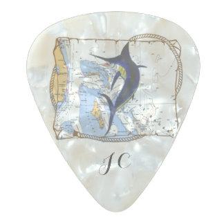 Bahamas Marlin Guitar Pick