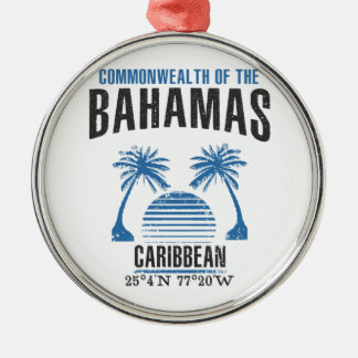 Bahamas Metal Ornament