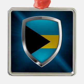 Bahamas Mettalic Emblem Metal Ornament