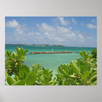 Bahamas Ocean Poster