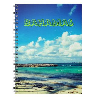 Bahamas Ocean View Notebook