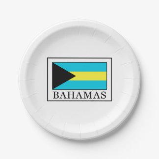 Bahamas Paper Plate
