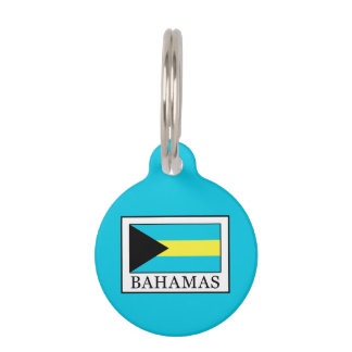 Bahamas Pet Name Tag