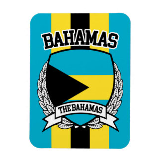 Bahamas Rectangular Photo Magnet