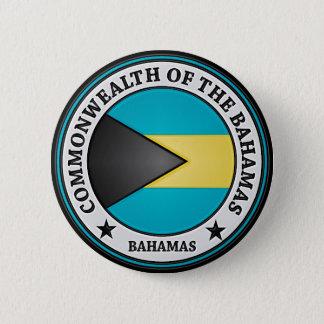 Bahamas Round Emblem 2 Inch Round Button