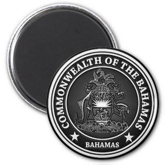 Bahamas Round Emblem Magnet
