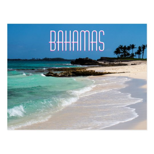 Bahamas Shore Postcard