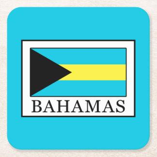 Bahamas Square Paper Coaster