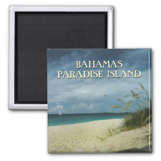 Bahamas Travel Souvenir Photo Magnet