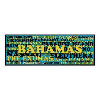 Bahamas word crowd source poster