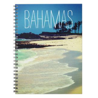 Bahamian Beach Notebook