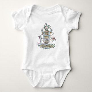 Bahamian coat of arms Infant Creeper