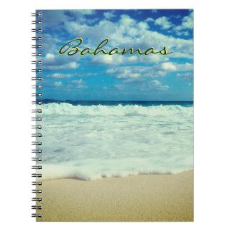Bahamian Creamy Beach Spiral Notebook