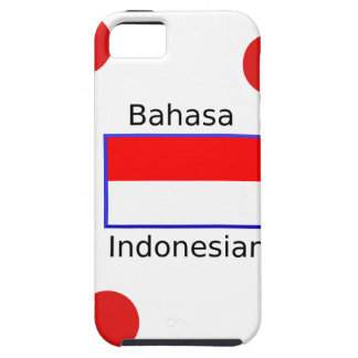 Bahasa Language And Indonesian Flag Design Case For The iPhone 5
