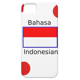 Bahasa Language And Indonesian Flag Design iPhone 5 Case
