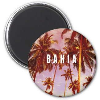 Bahia 2 Inch Round Magnet