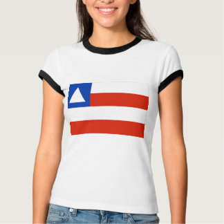 Bahia, Brazil Flag Tee Shirts