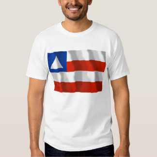 Bahia, Brazil Waving Flag T Shirt
