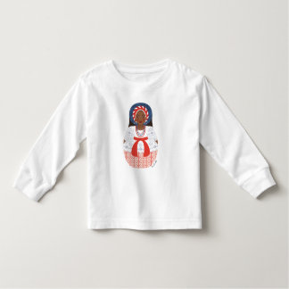 Bahia Brazilian Matryoshka Toddler Long Sleeve Tee Shirts