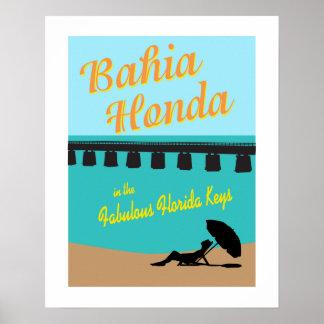 Bahia Honda Florida Keys Poster