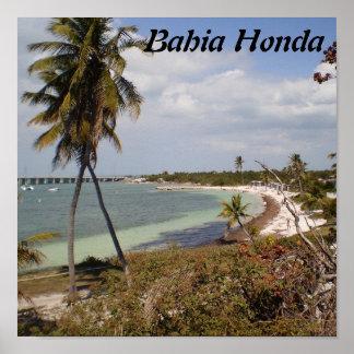Bahia Honda Poster