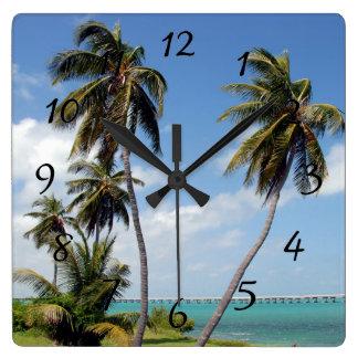 Bahia Honda State Park Florida Keys Wall Clock