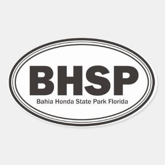 Bahia Honda State Park Oval Sticker