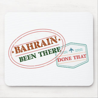 Bahrain Been There Done That Mouse Pad