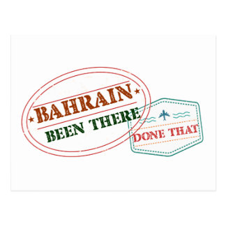 Bahrain Been There Done That Postcard
