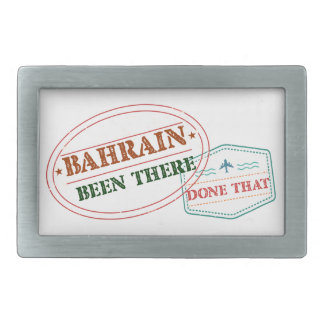 Bahrain Been There Done That Rectangular Belt Buckles