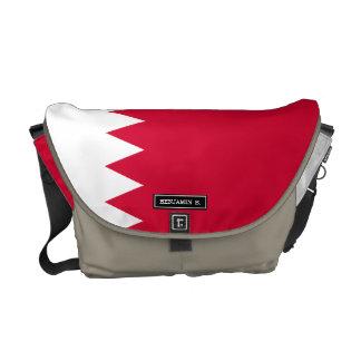 Bahrain Flag Courier Bag