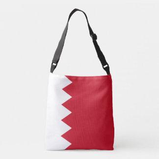 Bahrain Flag Crossbody Bag
