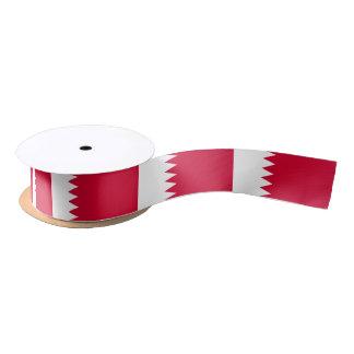 Bahrain Flag Satin Ribbon